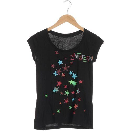 Zimtstern Damen T-Shirt schwarz kein Etikett INT S