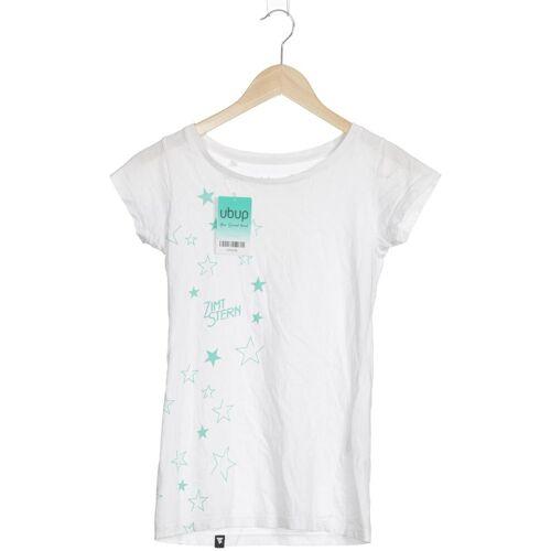 Zimtstern Damen T-Shirt weiß Baumwolle INT XS