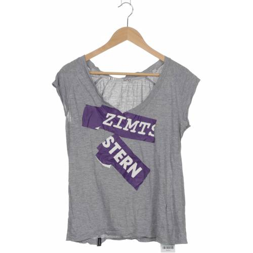 Zimtstern Damen T-Shirt grau Baumwolle INT M