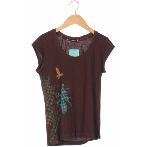 Zimtstern Damen T-Shirt braun Baumwolle INT XS