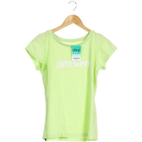 Zimtstern Damen T-Shirt grün Baumwolle INT S
