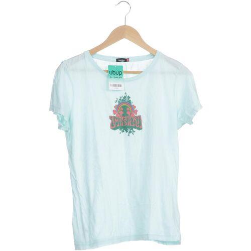 Zimtstern Damen T-Shirt blau Baumwolle INT M