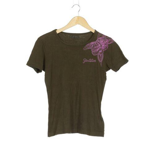 Zimtstern Damen T-Shirt grün Baumwolle INT M
