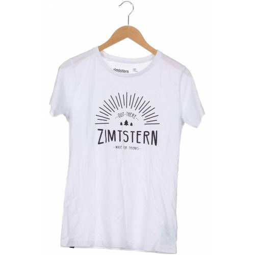 Zimtstern Damen T-Shirt weiß kein Etikett INT M