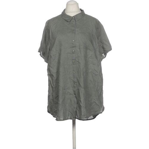 Zizzi Damen Bluse grün Leinen INT M