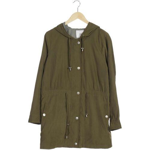 Zizzi Damen Mantel grün Synthetik INT S