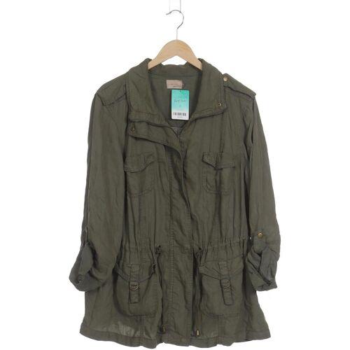 Zizzi Damen Jacke grün Viskose INT M