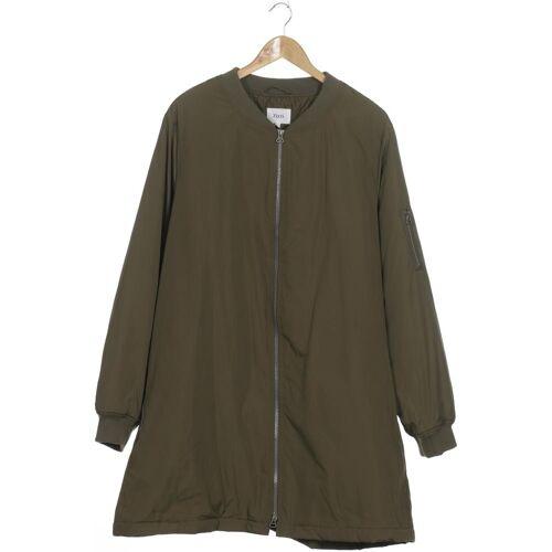 Zizzi Damen Mantel grün Synthetik INT XL