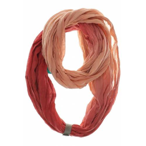 Zwei Damen Schal rot Baumwolle