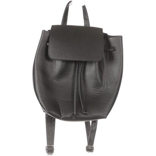 bershka Damen Rucksack schwarz kein Etikett