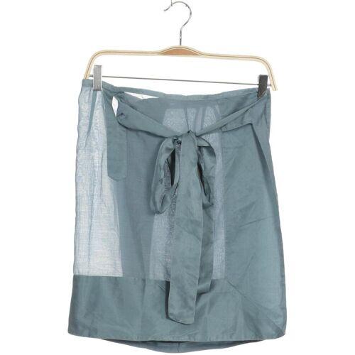 cocon.commerz PRIVATSACHEN Damen Rock blau Baumwolle Seide INT XS