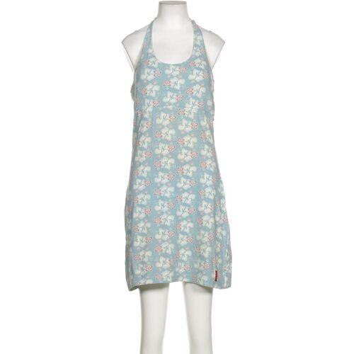 exxtasy Damen Kleid blau Elasthan Baumwolle DE 38