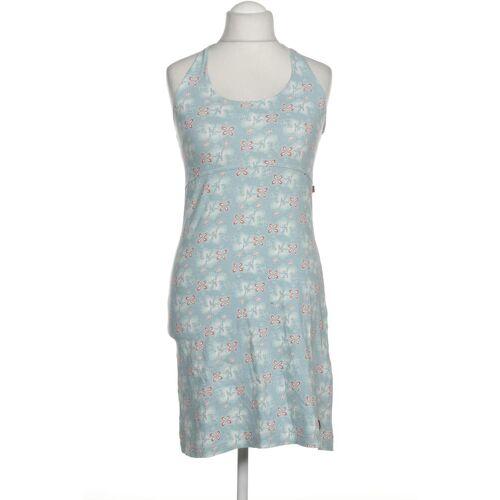 exxtasy Damen Kleid blau Elasthan Baumwolle DE 40