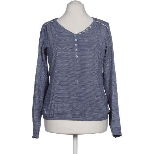 ragwear Damen Bluse blau Viskose INT M