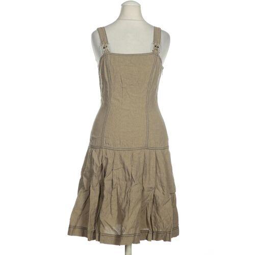 roccobarocco Damen Kleid braun Leinen DE 42