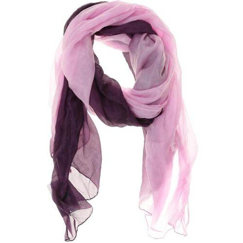 senas Damen Schal lila kein Etikett
