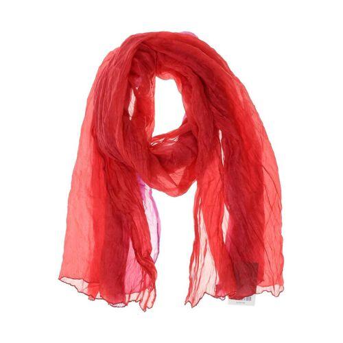 senas Damen Schal rot Seide