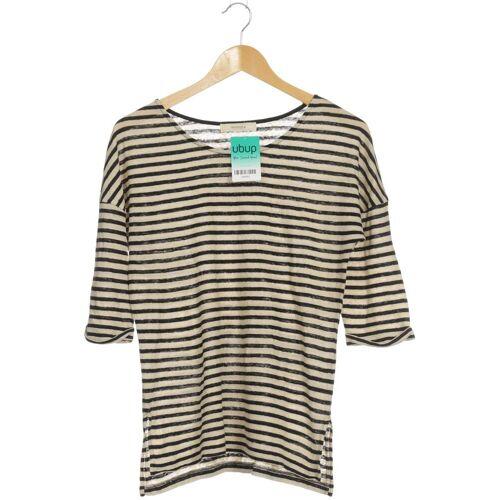 sessùn Damen T-Shirt beige Leinen INT M