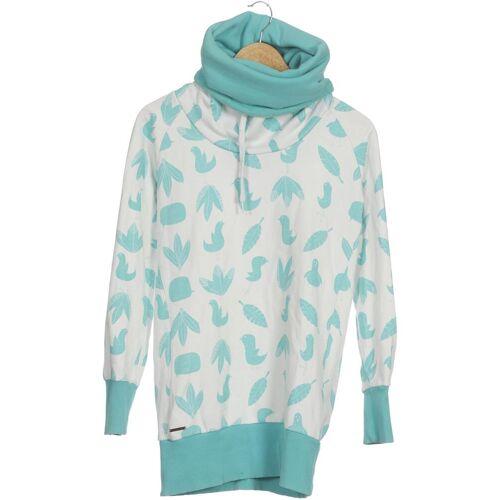 supremebeing Damen Sweatshirt weiß Baumwolle Synthetik INT M