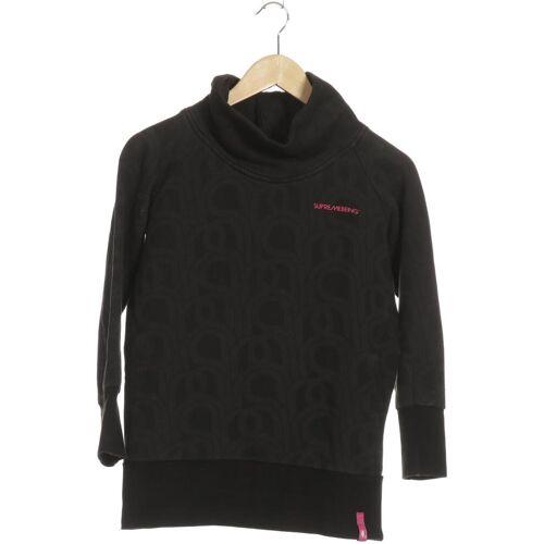 supremebeing Damen Sweatshirt schwarz Baumwolle INT XS