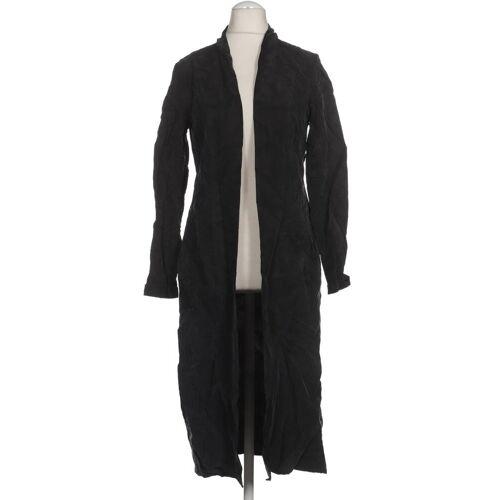 tigha Damen Mantel grau Viskose INT S