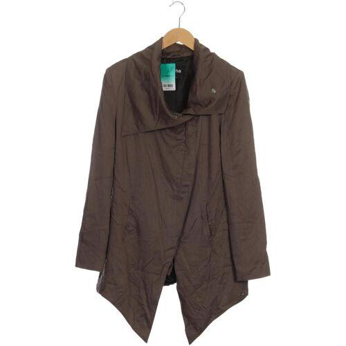 tigha Damen Mantel grau Synthetik INT XL