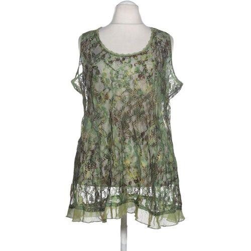 tredy Damen Bluse grün Synthetik DE 48