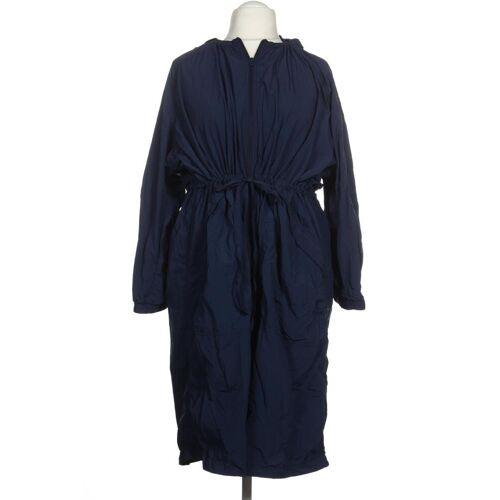 uniqlo Damen Mantel blau Synthetik INT L