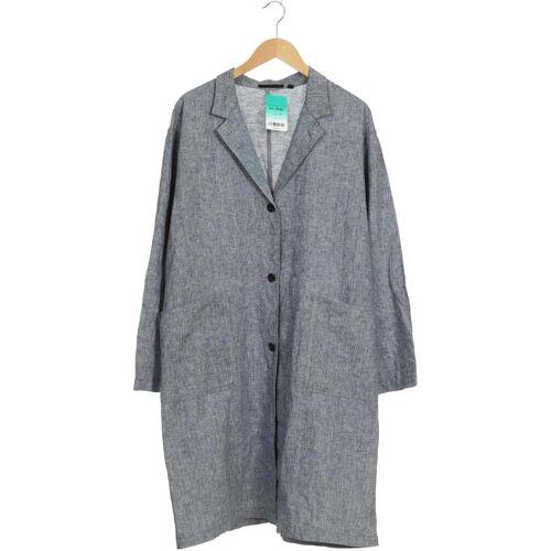 uniqlo Damen Mantel blau kein Etikett INT XXL