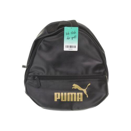 Puma Damen Rucksack schwarz Kunstleder