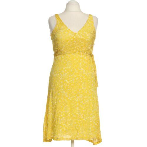 MANGO Damen Kleid INT S Maße Gesamtlänge: 99cm gelb