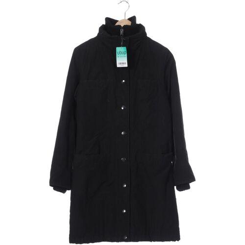 Fornarina Damen Mantel schwarz Baumwolle Synthetik INT S