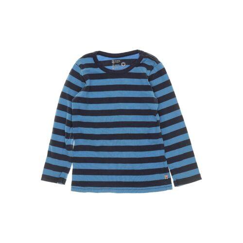 Katvig Herren Langarmshirt blau Baumwolle DE 110