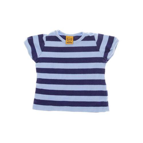 Katvig Herren T-Shirt blau Baumwolle DE 68