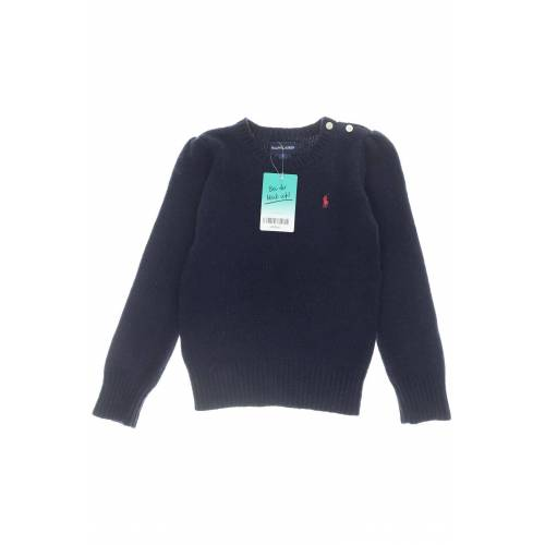Polo Ralph Lauren Damen Pullover blau Wolle Angorawolle DE 116