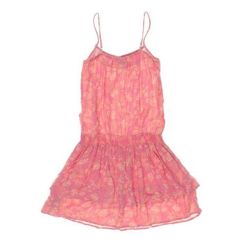 Manguun Damen Kleid pink Viskose DE 176