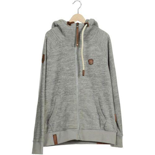 Naketano Damen Hoodies & Sweater grau Synthetik INT L