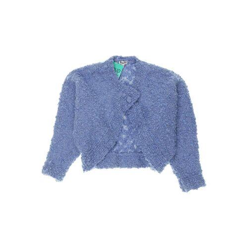 Pampolina Damen Strickjacke blau Synthetik Wolle DE 122