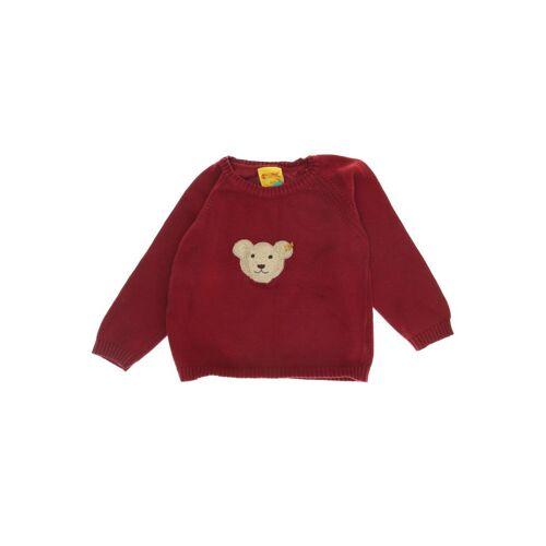 Steiff Herren Pullover rot Baumwolle DE 98