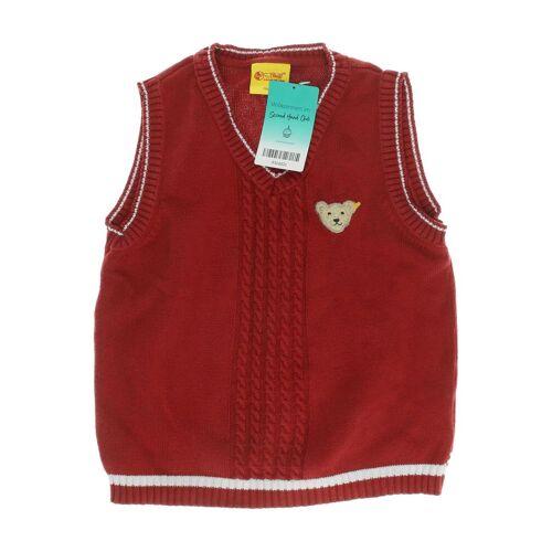 Steiff Damen Pullover rot Baumwolle DE 116