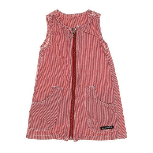 Villervalla Damen Kleid rot Baumwolle DE 92