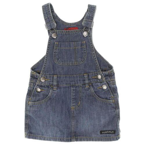 Villervalla Damen Kleid blau Baumwolle DE 92