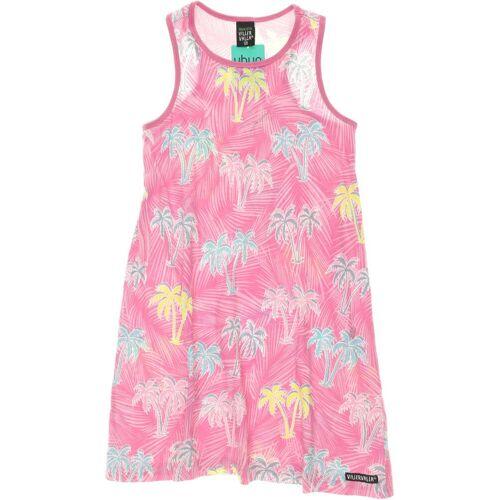 Villervalla Damen Kleid pink Baumwolle DE 128