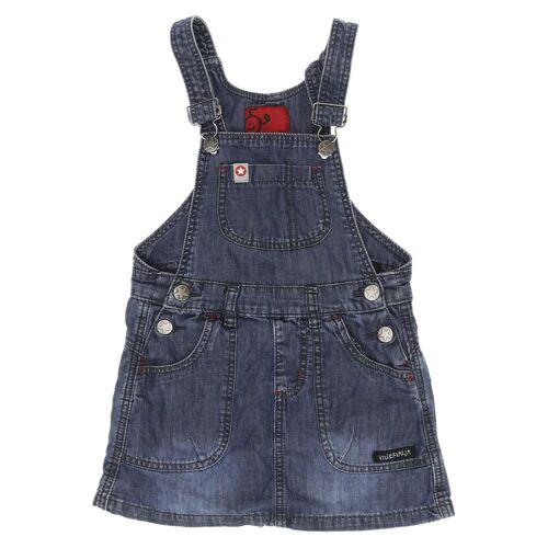 Villervalla Damen Kleid blau Baumwolle DE 104