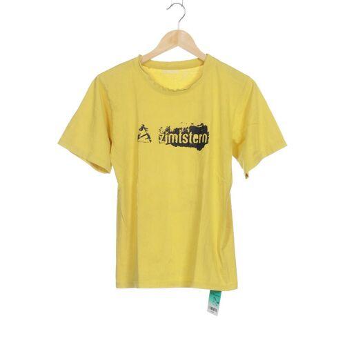 Zimtstern Herren T-Shirt gelb Baumwolle INT XL