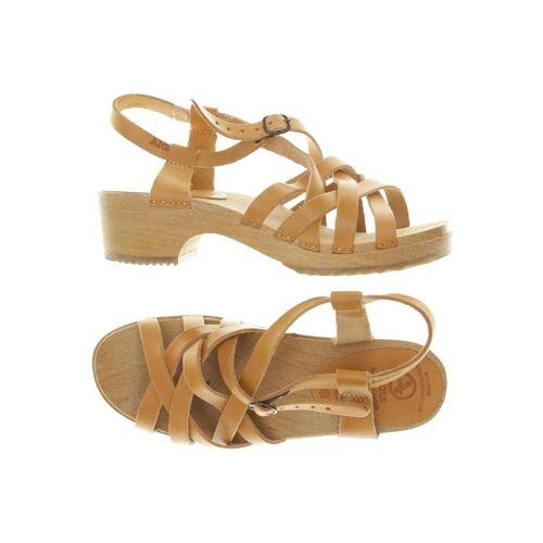 AIGLE Damen Sandale beige Leder DE 36.5
