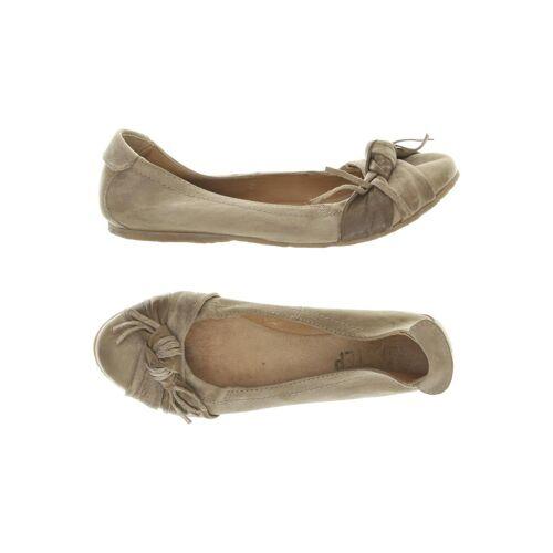 Airstep Damen Ballerinas beige Leder DE 40