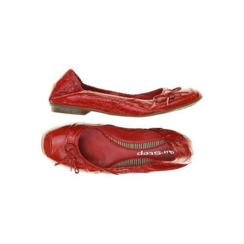 Airstep Damen Ballerinas rot kein Etikett DE 39