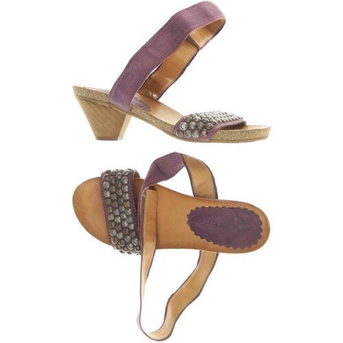 Airstep Damen Sandale lila Leder DE 36