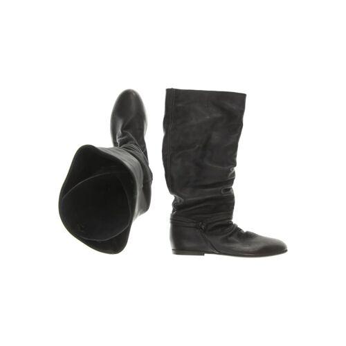 Akira Damen Stiefel schwarz Leder DE 38